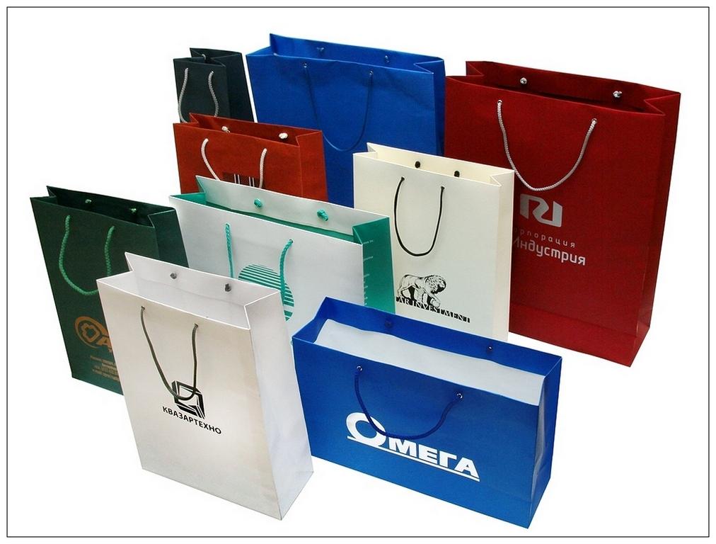 Печать на пакетах с логотипом калуга